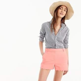 Pink Scallop Shorts